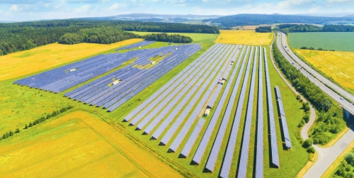 Integrated solar power plant projects