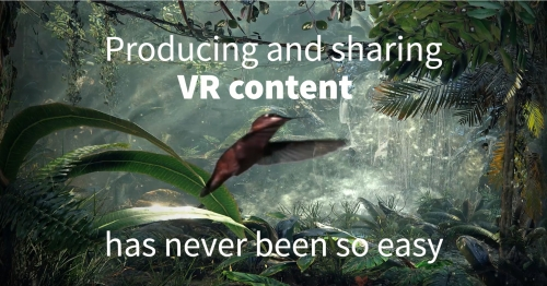 A VR Player for all devices and shared media gallery